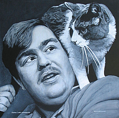 John Candy and Mr. Whiskers